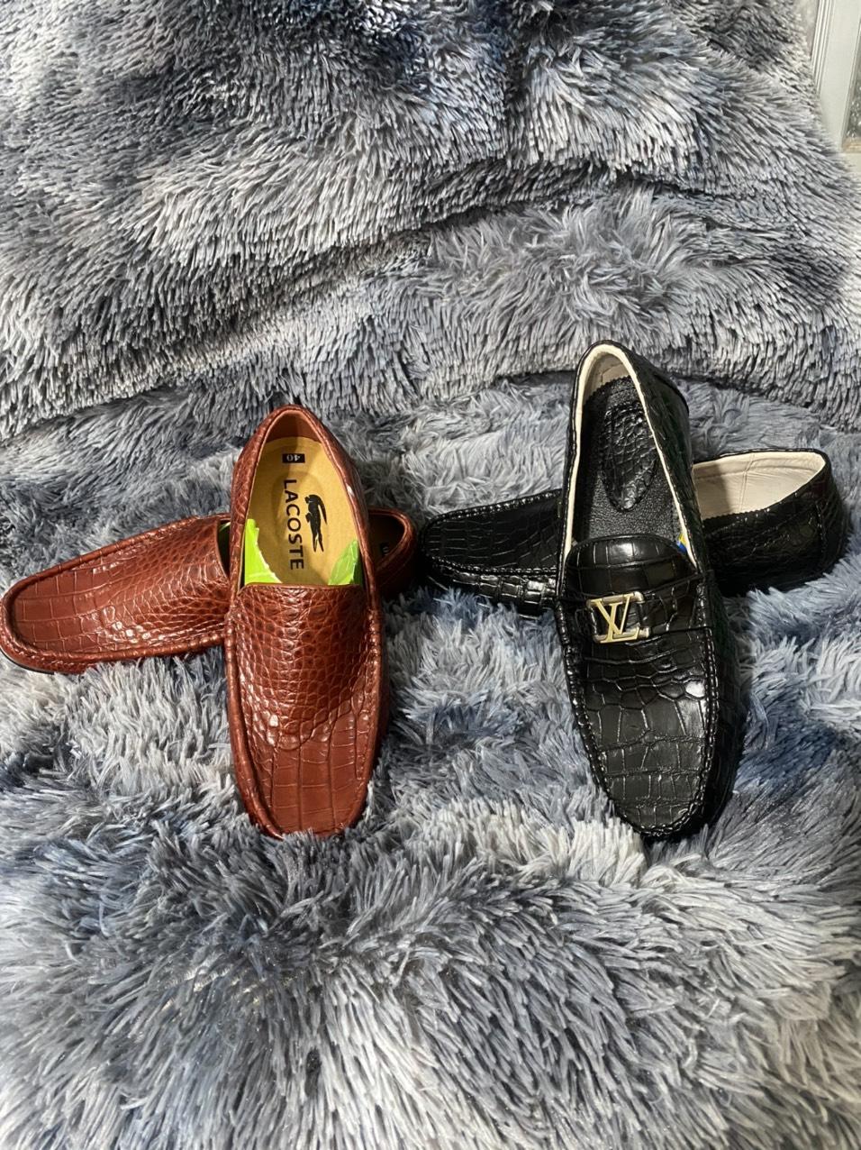 Giày Lười Da Cá Sấu HBGLDCS02
