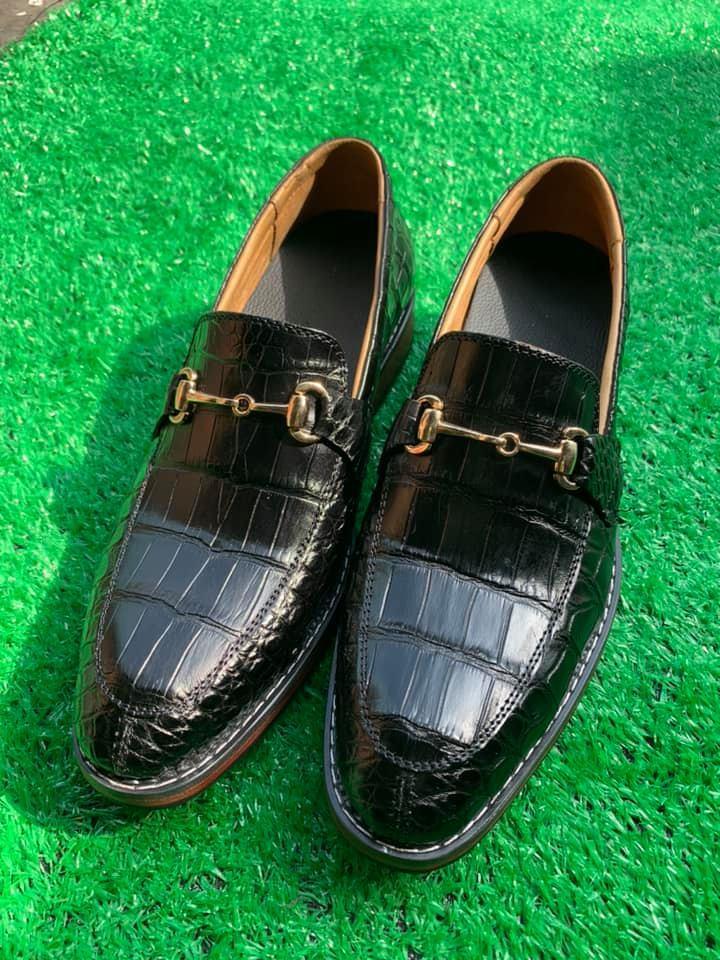 Giày Tây Da Cá Sấu HBGTDCS01