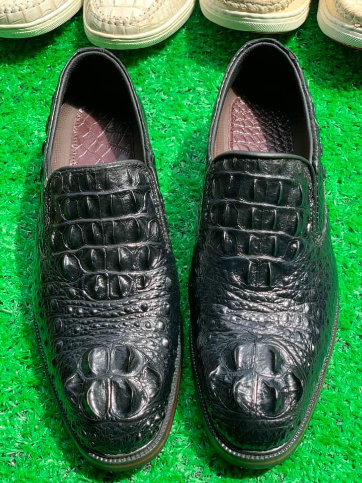 Giày Tây Da Cá Sấu HBGTDCS04